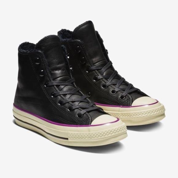 9e8403ec3498 Converse Chuck 70 Street Warmer Leather High Top